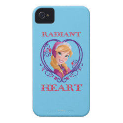 Case-Mate iPhone 4 Barely There Universal Case with Anna of Disney's Frozen: Radiant Heart design