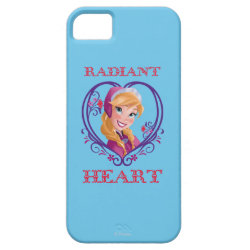Case-Mate Vibe iPhone 5 Case with Anna of Disney's Frozen: Radiant Heart design