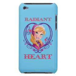 Case-Mate iPod Touch Barely There Case with Anna of Disney's Frozen: Radiant Heart design