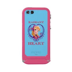 Incipio Feather Shine iPhone 5/5s Case with Anna of Disney's Frozen: Radiant Heart design
