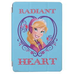 iPad Air Cover with Anna of Disney's Frozen: Radiant Heart design
