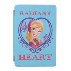 Anna of Disney's Frozen: Radiant Heart iPad mini Cover