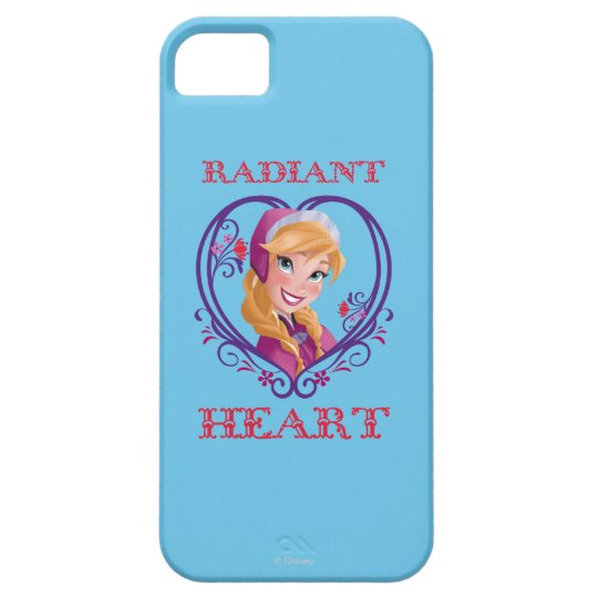 Anna | Radiant Heart iPhone SE/5/5s Case
