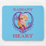 Anna, Radiant Heart Mouse Pad