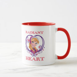Combo Mug with Anna of Disney's Frozen: Radiant Heart design