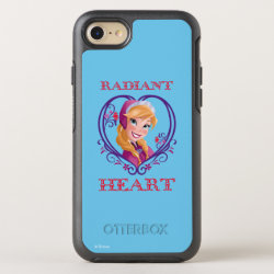 OtterBox Apple iPhone 7 Symmetry Case with Anna of Disney's Frozen: Radiant Heart design