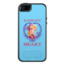 OtterBox Symmetry iPhone SE/5/5s Case with Anna of Disney's Frozen: Radiant Heart design