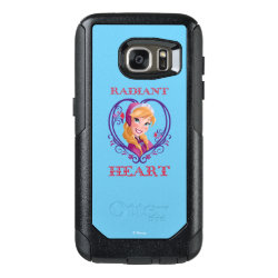 OtterBox Commuter Samsung Galaxy S7 Case with Anna of Disney's Frozen: Radiant Heart design