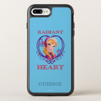 Anna | Radiant Heart OtterBox Symmetry iPhone 8 Plus/7 Plus Case