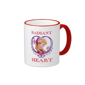 Anna, Radiant Heart Ringer Coffee Mug