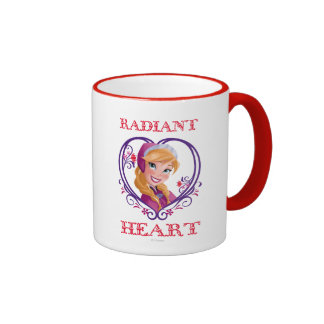 Anna, Radiant Heart Ringer Mug
