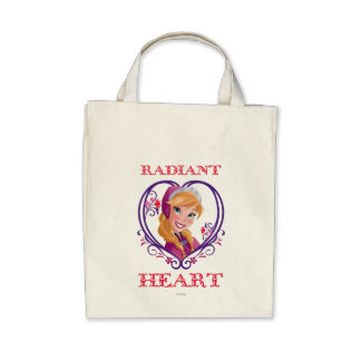 Anna, Radiant Heart Tote Bag