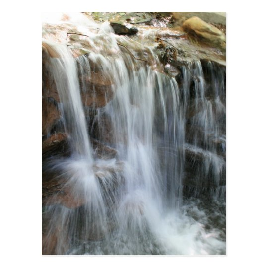 Anna Ruby Falls Helen Georgia waterfall Postcard