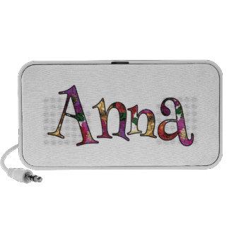 Anna's Colorful Fun Portable Speaker