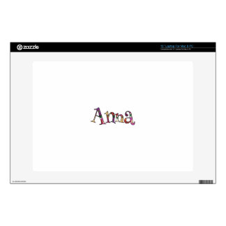 Anna's Colorful Fun Skin For Laptop
