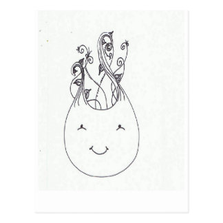 Anna Seedling Postcard