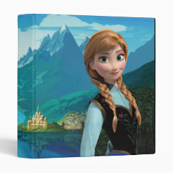 Avery Signature 1' Binder with Disney's Frozen Anna design