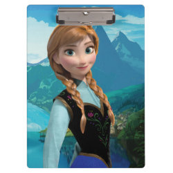 Clipboard with Disney's Frozen Anna design