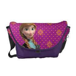 Rickshaw Medium Zero Messenger Bag with Disney's Frozen Anna design