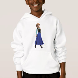 Girls' American Apparel Fine Jersey T-Shirt with Disney's Frozen Anna design