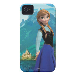Disney's Frozen Anna Case-Mate iPhone 4 Barely There Universal Case