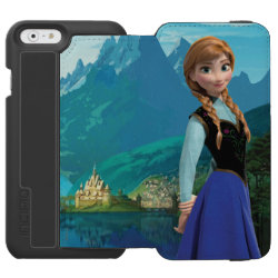 Incipio Watson™ iPhone 6 Wallet Case with Disney's Frozen Anna design