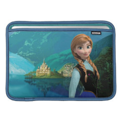 Macbook Air Sleeve with Disney's Frozen Anna design