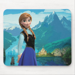 Mousepad with Disney's Frozen Anna design
