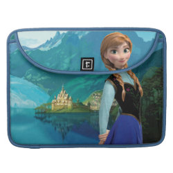 Macbook Pro 15' Flap Sleeve with Disney's Frozen Anna design