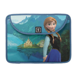 Macbook Pro 13' Flap Sleeve with Disney's Frozen Anna design