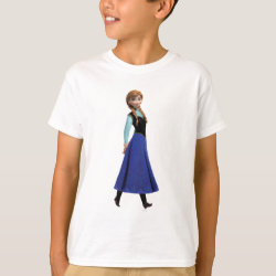 Kids' Hanes TAGLESS® T-Shirt with Disney's Frozen Anna design
