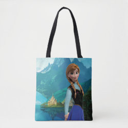 Disney's Frozen Anna All-Over-Print Tote Bag, Medium