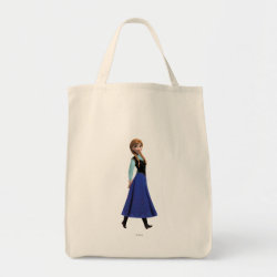 Grocery Tote with Disney's Frozen Anna design