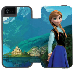 Incipio Watson™ iPhone 5/5s Wallet Case with Disney's Frozen Anna design