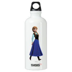 SIGG Traveller Water Bottle (0.6L) with Disney's Frozen Anna design
