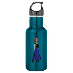 Water Bottle (24 oz) with Disney's Frozen Anna design