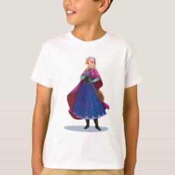 Kids' Hanes TAGLESS® T-Shirt with Anna's Frozen Adventure design