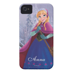 Case-Mate iPhone 4 Barely There Universal Case with Anna's Frozen Adventure design