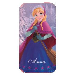 Incipio Watson™ iPhone 6 Wallet Case with Anna's Frozen Adventure design