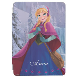 iPad Air Cover with Anna's Frozen Adventure design