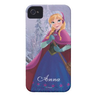 Anna | Standing with Winter Dress iPhone 4 Case