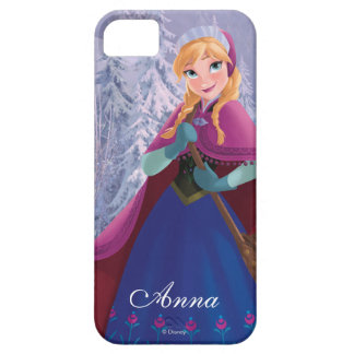 Anna | Standing with Winter Dress iPhone SE/5/5s Case