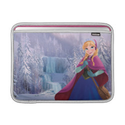 Macbook Air Sleeve with Anna's Frozen Adventure design