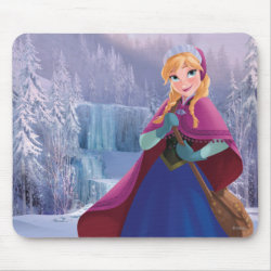 Mousepad with Anna's Frozen Adventure design