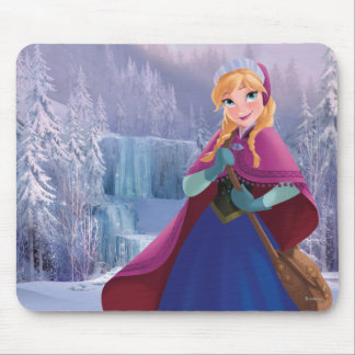 Anna | Standing with Winter Dress Mouse Pad
