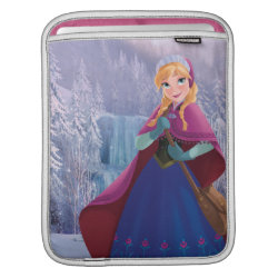 iPad Sleeve with Anna's Frozen Adventure design