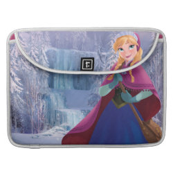 Macbook Pro 15' Flap Sleeve with Anna's Frozen Adventure design