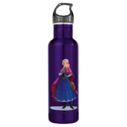 Water Bottle (24 oz) with Anna's Frozen Adventure design