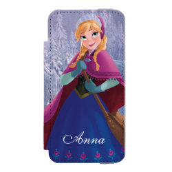 Incipio Watson™ iPhone 5/5s Wallet Case with Anna's Frozen Adventure design