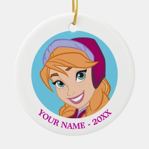 Anna | Strong Heart Ceramic Ornament
